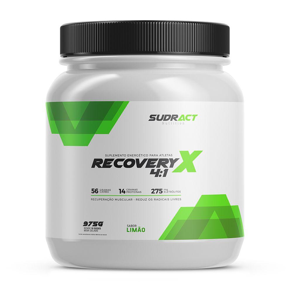 Recovery X Pote 975g (13 doses) - Limão