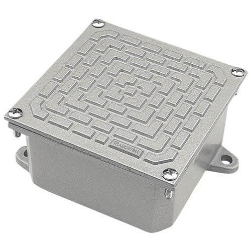 Caixa De Passagem 10x10 Alumínio 56123/001 Tramontina