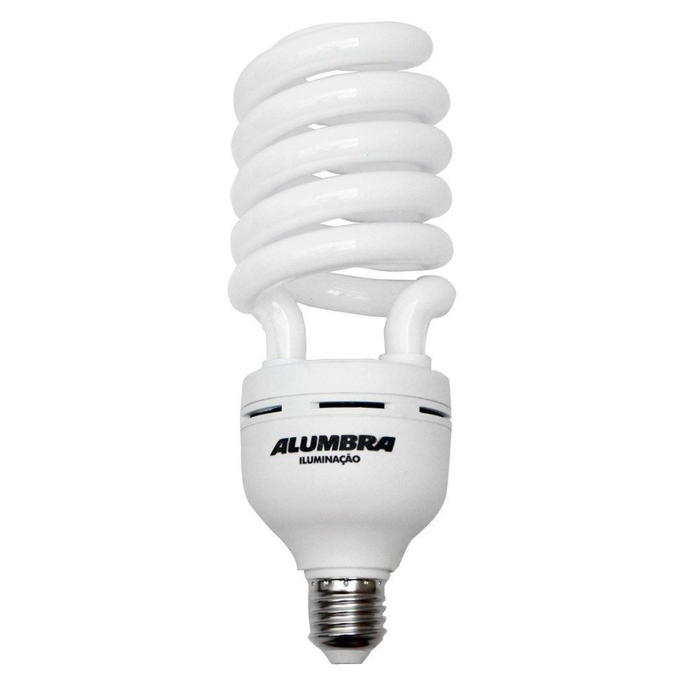 Lâmpada Fluorescente Espiral 53w 220v Alumbra