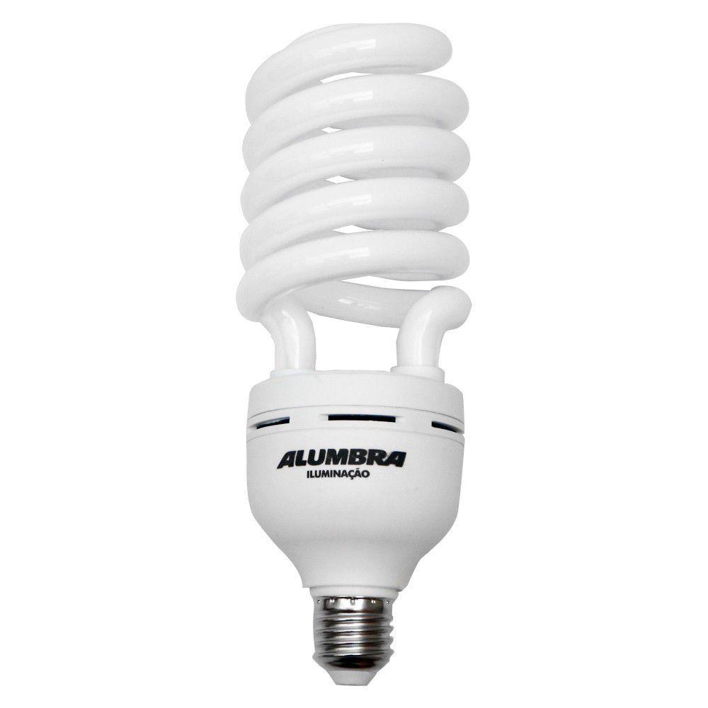 Lâmpada Fluorescente Espiral 85w 220v E27 Alumbra
