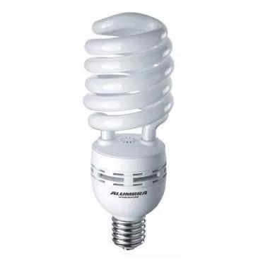 Lâmpada Fluorescente Espiral 85w 220v E40 Alumbra
