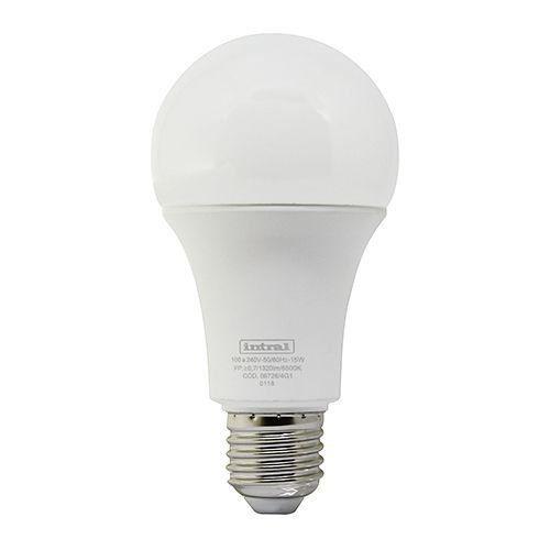 Lâmpada Led Bulbo 15w Luz Branca Fria Intral