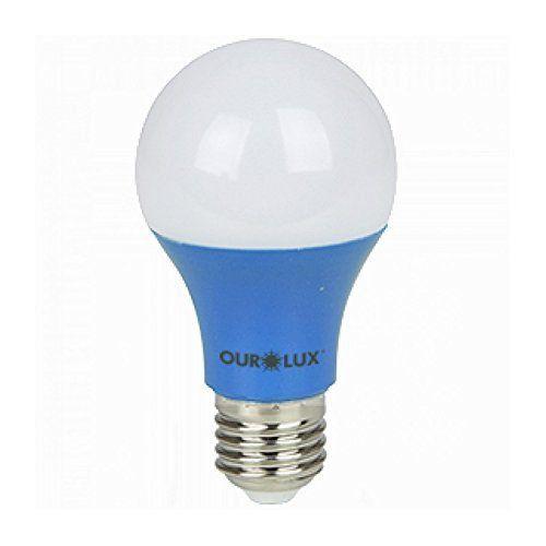 Lâmpada Led Color 7w Azul E27 Ourolux