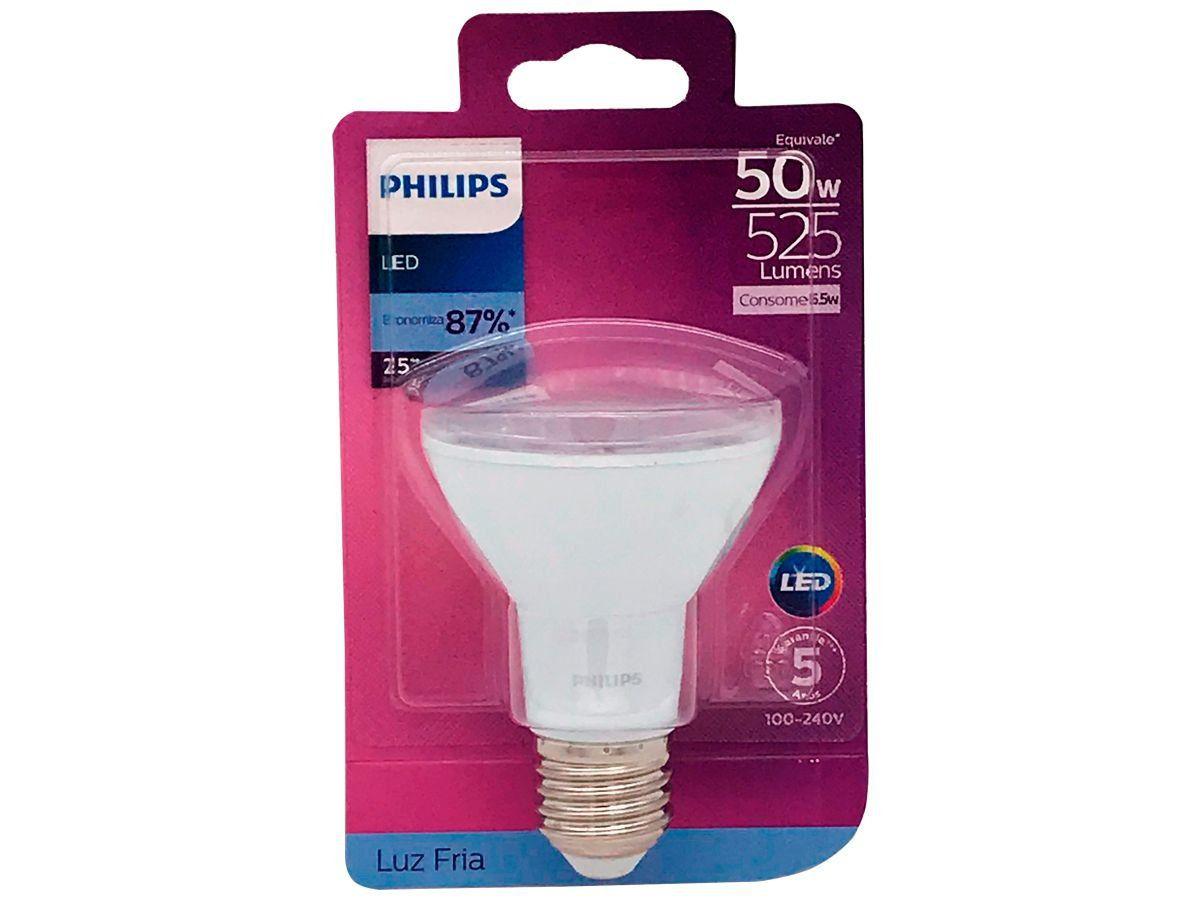 Lâmpada Led Par20 Branca Fria 6.5W Philips