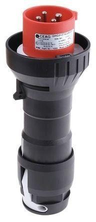 Plug Blindado Ex 3p+t 32a 380 - 415v Ghg5127406r0001 Ceag