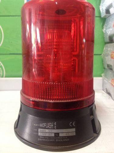 Sinalizador de Xenon 230v X40022 Vermelho Moflash