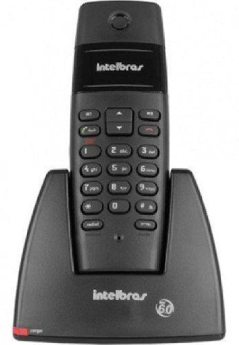 Telefone Sem Fio TS40 Preto Intelbras
