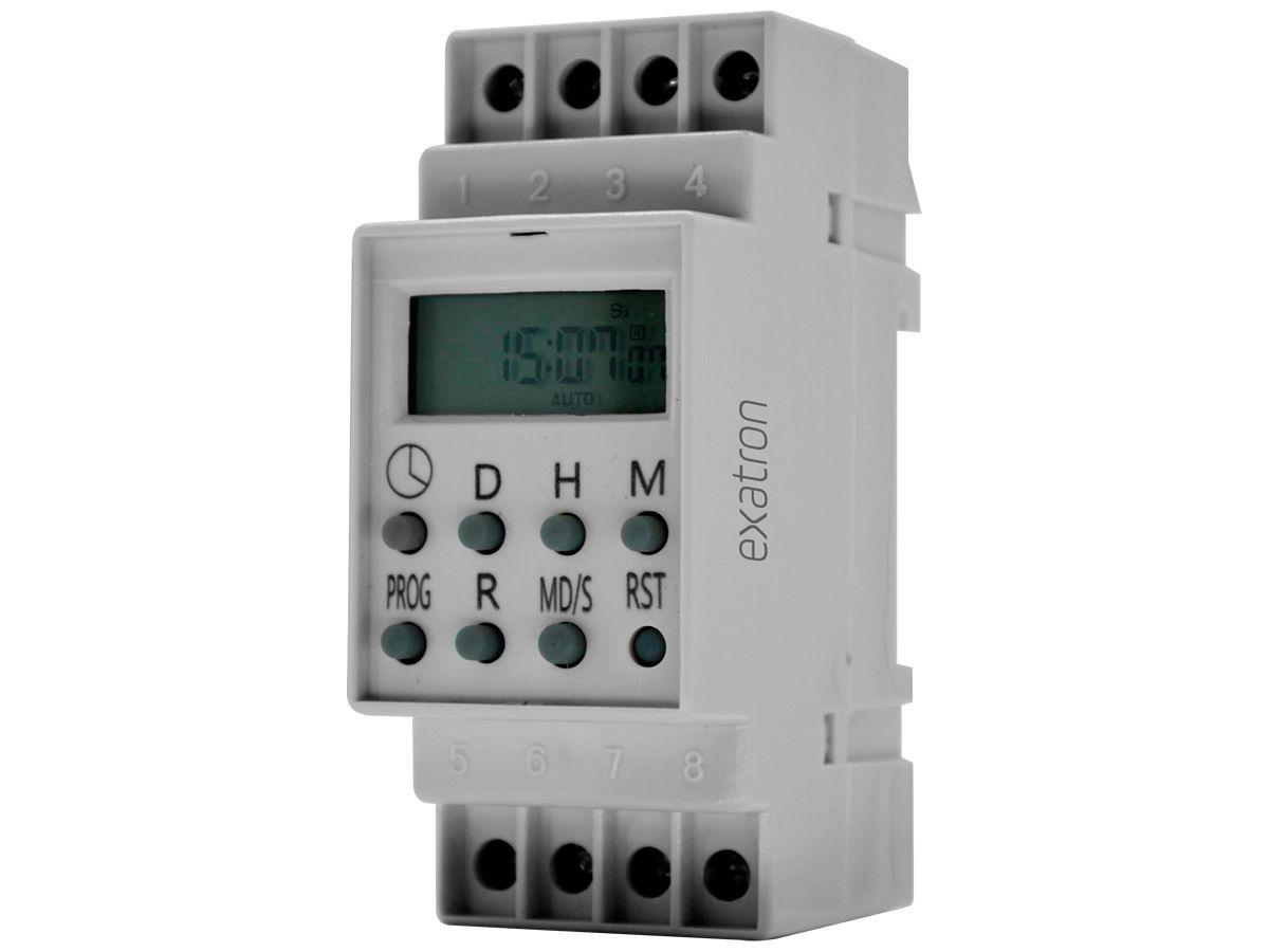 Timer Digital Trilho 220V TMD2IND Exatron