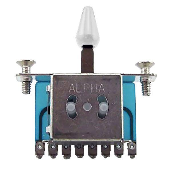 Chave Seletora 5 Posicoes Alpha para Guitarra