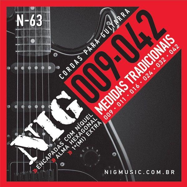 Corda Para Guitarra Nig 009 N-63