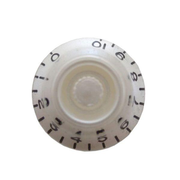 Knob Plastico Speed Bell Perola