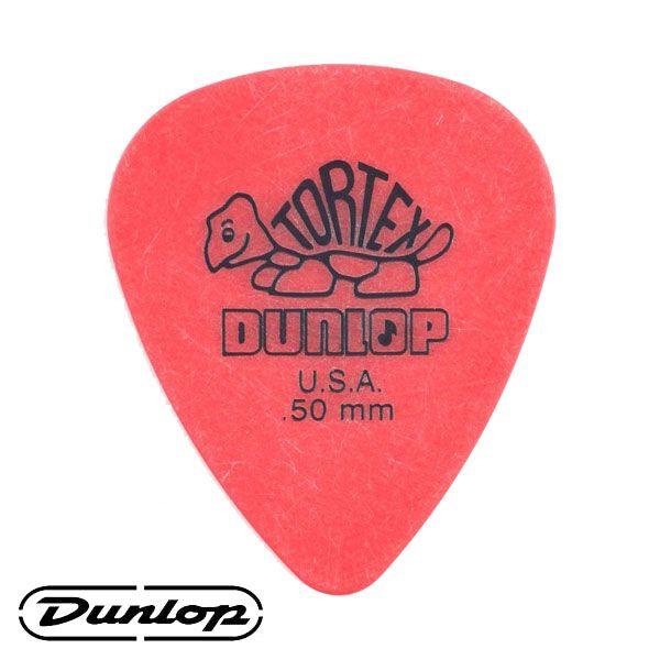 Palheta Dunlop Tortex Grip 0,50mm