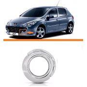 Aro Moldura Cromada Peugeot 307 07 08 09 10 11 12 Esquerdo