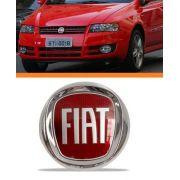 Emblema Fiat Stilo 08 2009 2010 2011 Vermelho