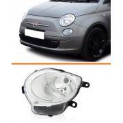 Farol Fiat 500 08 09 2010 2011 2012 2013 Inferior Esquerdo