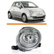 Farol Fiat 500 2008 09 2010 2011 2012 2013 Superior Direito