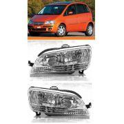 Farol  Fiat Idea 2005 2006 2007 2008 2009 2010 Par
