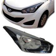 Farol Hyundai Hb20 Mascara Negra 2012 2013 Novo Importado Ld