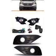 Kit Farol De Milha Auxiliar Honda Crv 2012 2013 2014 2015