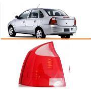 Lanterna Traseira Corsa Sedan  2003/2012  Branca Le