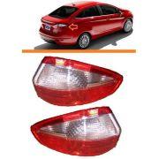 Lanterna Traseira Ford New Fiesta 2014 2015sedan Par