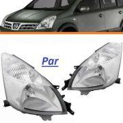 Par Farol Nissan Livina 2009 2010 2011 2012 2013 2014