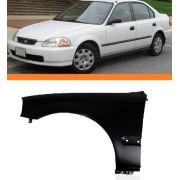 Paralama Honda Civic 96 97 98 Lado Esquerdo Novo