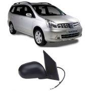 Retrovisor Nissan Livina 2008 2009 2010 2011  2012 Direito