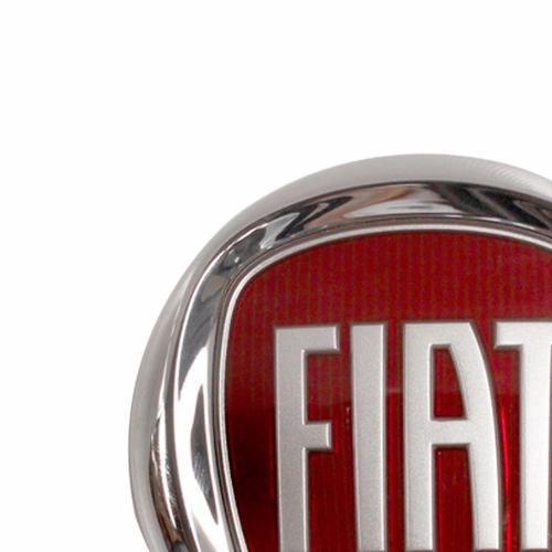 Emblema Fiat Stilo 08 2009 2010 2011 Vermelho  - Kaçula Auto Peças
