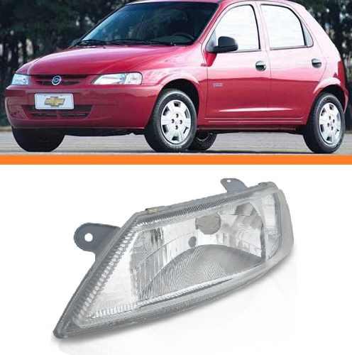 Farol Celta 2000 2001 2002 2003 2004 2005 06 Esquerdo  - Kaçula Auto Peças
