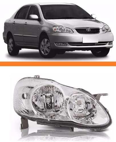 Farol Corolla 2002 2003 2004 Direito  - Kaçula Auto Peças