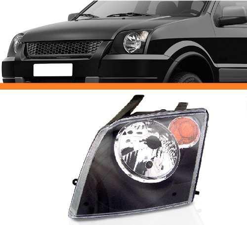 Farol Ecosport Lado Esquerdo Ambar 2003 2004 2005 2006 2007  - Kaçula Auto Peças