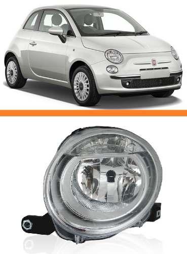 Farol Fiat 500 2008 09 2010 2011 2012 2013 Superior Direito  - Kaçula Auto Peças