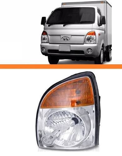 Farol Hr Hyundai Ano 2007 2008 2009 2010 2011 Esquerdo  - Kaçula Auto Peças