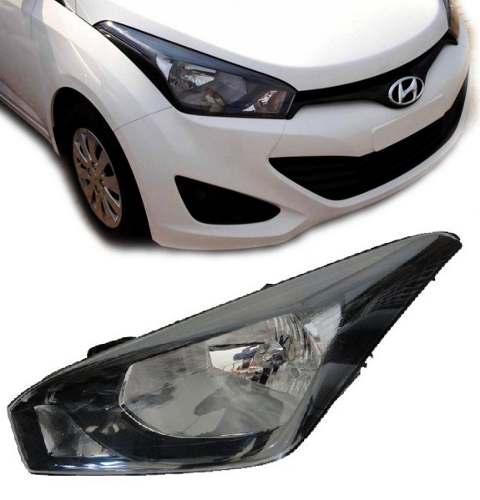 Farol Hyundai Hb20 Mascara Negra 2012 2013 Novo Importado Le  - Kaçula Auto Peças