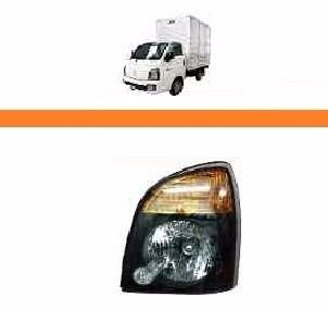 Farol Hyundai Hr 2013 2014 2015 2016 17 Mascara Negra Le  - Kaçula Auto Peças