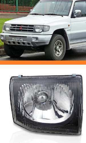 Farol Pajero 98 99 00 Novo 1998 1999 2000 Esquerdo Novo  - Kaçula Auto Peças