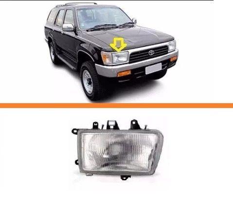 Farol Toyota Hilux Sw4  92 93 94 95 96  97 99 98  01 02 Ld  - Kaçula Auto Peças