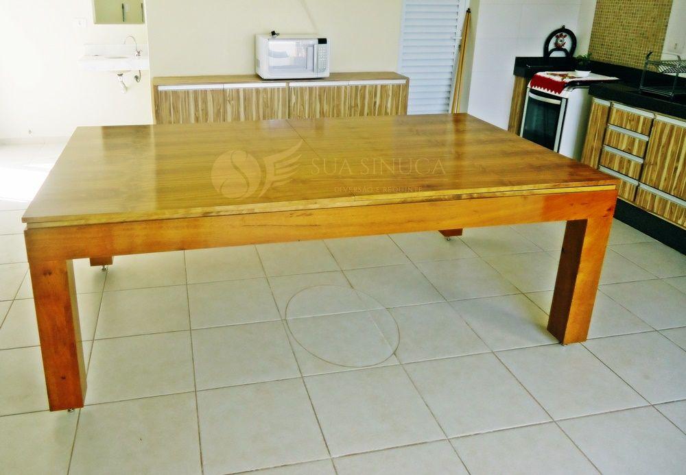 Mesa de Sinuca e Jantar New