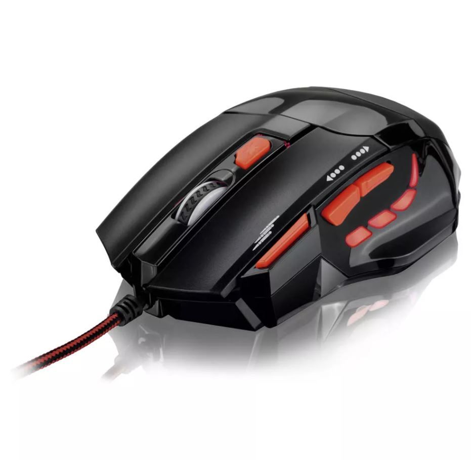 Mouse Optico XGamer Multilaser Fire Button USB 2400 DPI - MO236