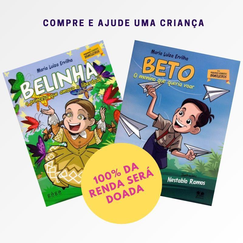 KIT Pequenos Grandes Brasileiros