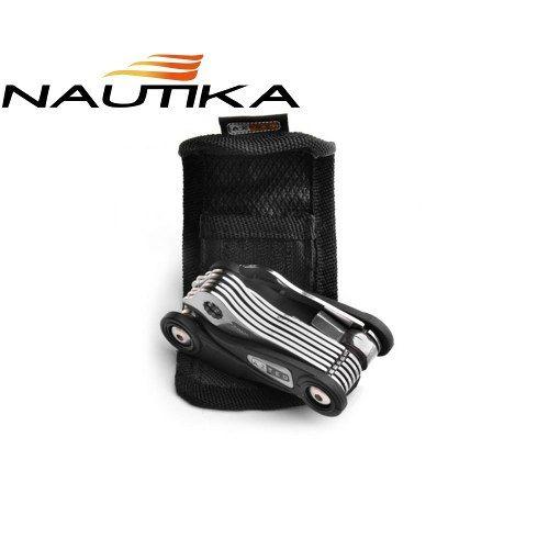 Kit Ferramenta Bike Tool Com Extrator De Corrente.