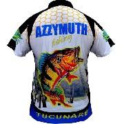 Camisa Pesca Manga Curta Azzimuth Dry Fit