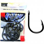 Anzol Marine Sports Live Bait 7/0 - C/ 10