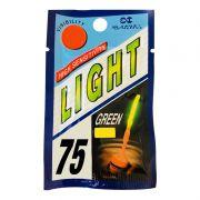 Bastão Luminoso Pesca Luz Química 7.5x75m/m