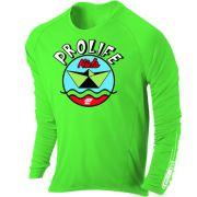 Camiseta Proteção Uv 50 + Infantil Prolife Verde