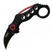 Canivete Karambit Wild Wolf Vermelho - Cs Go