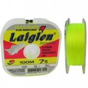 Linha Marine Sports Laiglon Amarela 0,43mm - 15kg - 100m