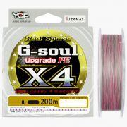 Linha Multifilamento Ygk G-soul Upgrade Pe X4 200 M