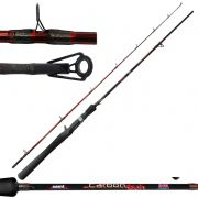 Vara Saint Plus Carretilha Carbon Tech 1.68 m 7-17 lbs Inteiriça